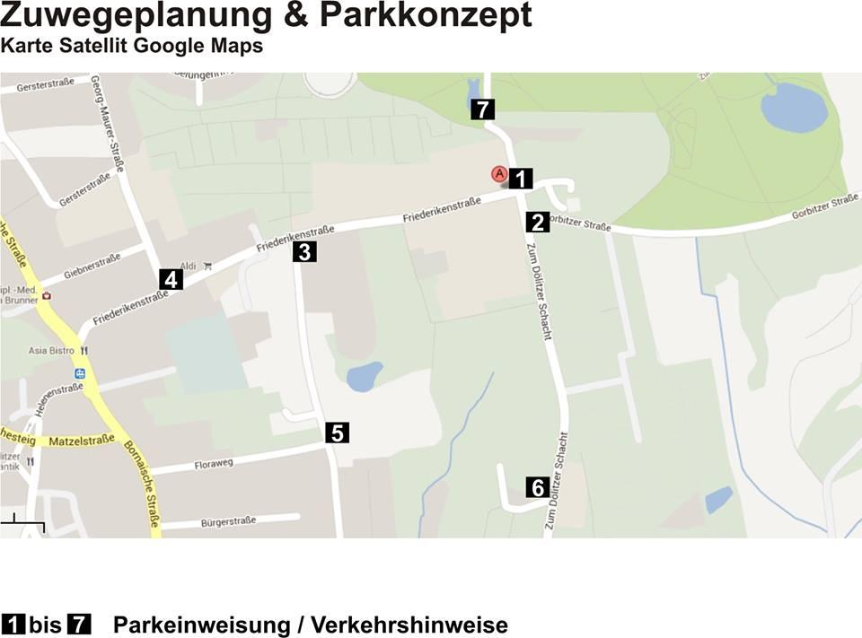 Dezentrale Parkplätze